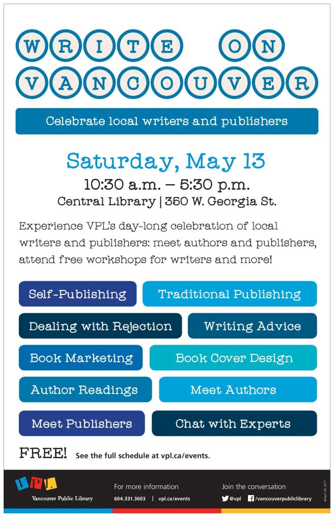 VPL - MC - Central Library - Write On Vancouver - POSTER - 2017-05-13-page-001