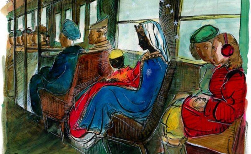 Streetcar Madonna 1946, Allan Rohan Crite