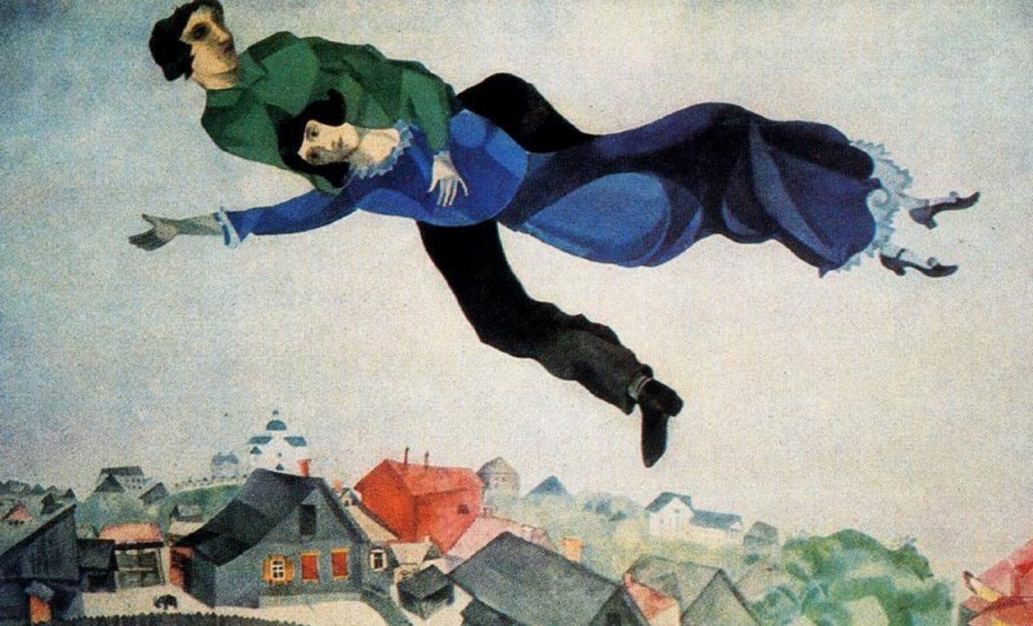 Chagall.Flying Lovers
