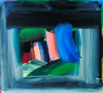 Rain 1984-9 Howard Hodgkin born 1932 Purchased 1990 http://www.tate.org.uk/art/work/T05771