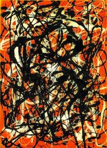 Jackson Pollock, freeform 1946