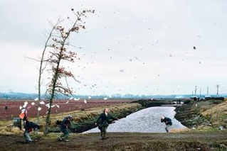 Jeff Wall A Sudden Gust of Wind (after Hokusai), 1993