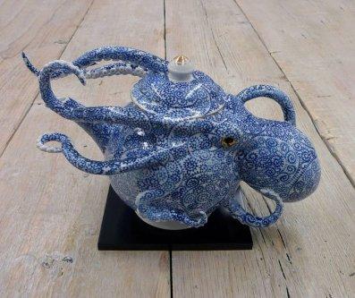 Octopus Teapot.Keiko Masumoto