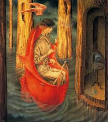 Remedios Varo.Exploration of the Sources of the Orinoco River