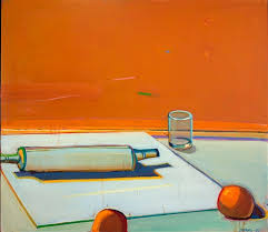 Still Life with Rolling Pin.Raimonds Staprans