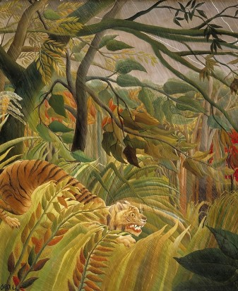 Tiger in a Tropical Storm. Henri Rousseau